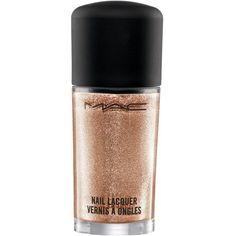 MAC Nail Lacquer Soiree One Size (21 CAD) ❤ liked on Polyvore featuring beauty products, nail care, nail polish, nails, beauty, makeup, shiny nail polish, mac cosmetics and mac cosmetics nail polish