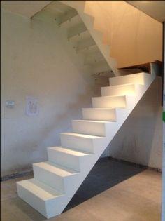 Afbeeldingsresultaat voor wit trap z onderkwart Scale, Stairs, Cozy, Home Decor, Weighing Scale, Ladders, Stairway, Room Decor, Stairways