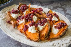 NYT Cooking: Sweet Potatoes With Cranberry-Jalapeño Chutney