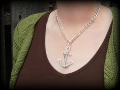 Wire Work Anchor Nautical Faith and Hope por RefreshingDesigns
