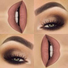 shimmery brown smokey eye Join my free tips and tricks group! http://www.lindseypierce.com/vip
