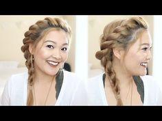 TWISTED ROPE BRAID HAIR TUTORIAL | JaaackJack - YouTube