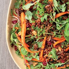 Roasted Carrot and Red Quinoa Salad | Food & Wine