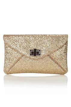 Glitter Envelope Bag