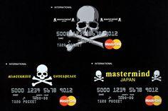 Mastermind Japan x Magaseek Special Limited Edition MasterCard: Platinum card? PFFT! I got an MMJ Card.