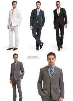 groom - my man will be decked out in grey lookin as handsome as always