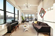 Obsessed with Anne Hathaway's NYC apartment! .