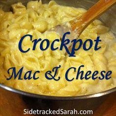 Crockpot Mac & Chees