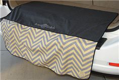 "I love this product! Bumper blankets are water resistant...and cute! No more ruining my pants leaning in to my trunk after a Costco trip :). Come in 34"" for cars and 46"" for SUVs and minivans."