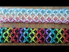 Rainbow Loom- Improved DuoAna Bracelet (Original Design) - YouTube