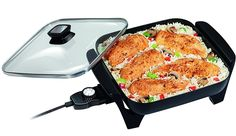 Top 10 Best Electric Skillets in 2020 - Top Skillet Brands for Cooking Best Electric Skillet, Electric Skillet Recipes, Cooking Bacon, Cooking Recipes, Best Electric Scooter, Skillet Meals, Food Preparation, Fries, Grilling