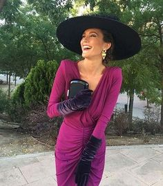 Why don't you get a job so you can relate to reality. Derby Outfits, Outfits With Hats, Race Day Fashion, Party Fashion, Kentucky Derby Outfit, Race Wear, Wedding Guest Style, Cocktail Outfit, Overalls Women