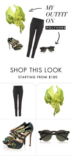"""Class"" by mia-anne ❤ liked on Polyvore featuring STELLA McCARTNEY and Carven"