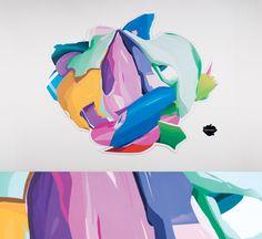 Creativity / New Layers / Solo exhibition / Cultural Center Parobrod / SHONSKI art and design studio