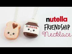 DIY Nutella Friendship Necklace - Nutella & Toast - YouTube