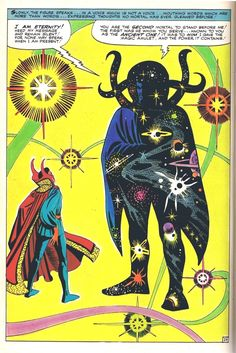 strange tales 138 doctor strange meets eternity by steve ditko Marvel Comics, Marvel E Dc, Old Comics, Marvel Comic Books, Vintage Comics, Comic Books Art, Marvel Universe, Marvel Heroes, Marvel Doctor Strange