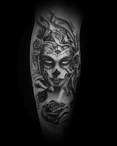 Catrina Guys Tattoo Designs