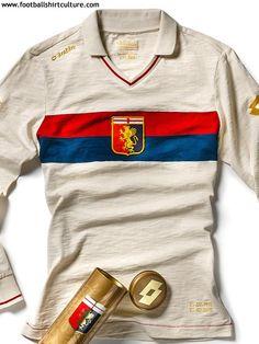 Genoa 100th Anniversary Away Lotto Football shirt