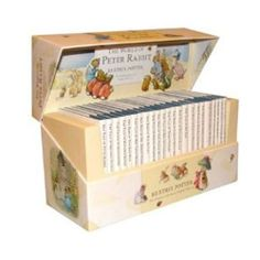 All 23 original Tales by Beatrix Potter are available in a beautifully redesigned presentation box. This luxurious box features the new branded design, spot lamination and full-color original Beatrix Potter art, including a pop-up of Peter Rabbit . Beatrix Potter Nursery, Beatrix Potter Books, Coelho Peter, Childrens Room, Illustrator, Peter Rabbit Nursery, Beatrice Potter, Peter Rabbit And Friends, Peter Rabbit Books