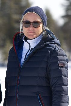 Princess Mette-Marit of Norway attends the 50th Ridderrenn skiing competition for the visually impaired on April 13, 2013 in Beitostoelen, Norway.