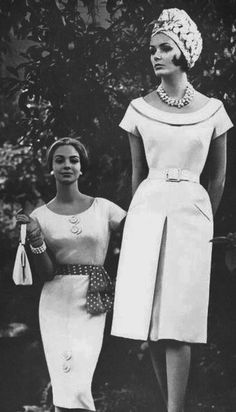 1961 Love these necklines