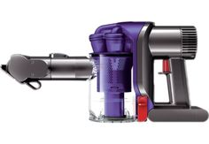 Dyson DC34 Animal is the most powerful handheld vacuum, with a longer run time and a motorized brush bar for pet hair removal. Dual power mode gives 15 minutes of high constant suction, or 6 minutes of MAX power for more difficult tasks. Powered by the Dyson digital motor.