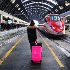 Pronti, partenza, via!    Alice Cerea indossa Hesse, capotto #Cstudio15  ►http://bit.ly/1ST1bOw     #CstudioPeople