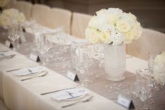 Decoration: Silver Table Decorations Wedding