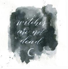 Modern Witches 🔮 Calligraphy spells here- https://www.instagram.com/stefania.iorgoiu/