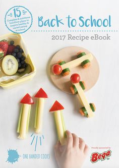 { N E W S } Our FREE 2017 Back To School Recipe eBook is available now. It's packed with fresh, new lunchbox inspiration, including 15 complete lunchbox ideas  and all the preparation tips you'll need to save both your time and your sanity:  http://onehandedcooks.com.au/2017-back-to-school-recipe-ebook/ Proudly sponsored by Bega.