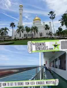 How to get to Brunei from Kota Kinabalu: Our guide to taking the ferry to this little visited but beautiful country on Borneo