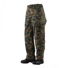 Tru-Spec 1268 Tactical Response Uniform (TRU) Pants, Woodland Digital Camo