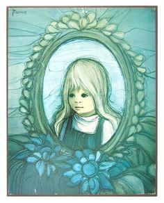 Jaklien Moerman Blue Girl