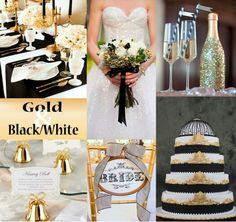 Black and gold negro y dorado