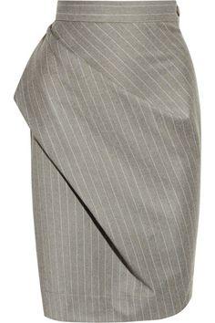 b5cadf1c2d95b Vivienne Westwood Anglomania - Philosophy pinstripe wool pencil skirt