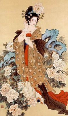 Yang Yuhuan, one of four ancient China beauties.