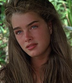 Brooke Shields in Blue Lagoon.
