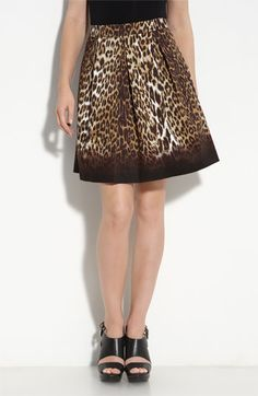 T Tahari Jane Skirt - love the leopard, would prefer pencil style.