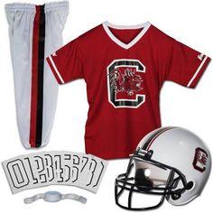 Franklin Sports Ncaa Uniform Set, South Carolina, Boy's, Size: Small, Blue/Beige