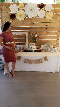 This Is Absolutely Beautiful Burlap Baby ShowersVintage