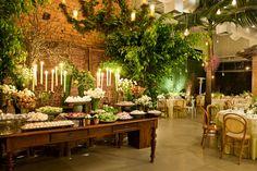 Casamento despojado em verde e branco - Constance Zahn | Casamentos