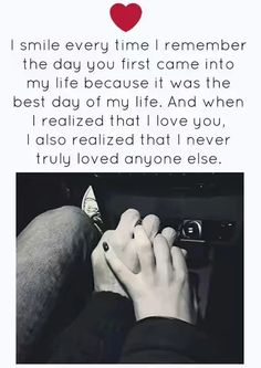 I couldn't love anyone else,because I've finally found the one Love I've been craving for my whole life Cute Love Quotes, Heart Touching Love Quotes, Soulmate Love Quotes, Love Quotes For Girlfriend, Love Husband Quotes, Love Quotes For Her, Romantic Love Quotes, Boyfriend Quotes, Quotes For Him