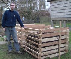 Bauanleitung Kompostbehälter aus Einwegpaletten