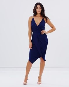 Buy EXCLUSIVE Counting Stars Drape Dress by Cooper St online at THE ICONIC. Free and fast delivery to Australia and New Zealand.