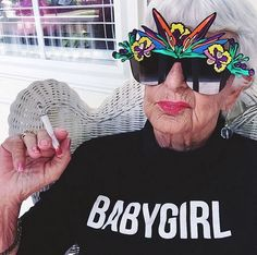 Meet Baddiewinkle, the 87-year-old fashion maven who has been 'stealing your man since 1928' | Dangerous Minds