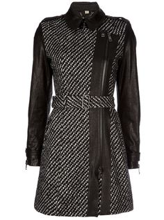 Burberry. This would be a little bit risky but you could wear this cute coat to work to add a bit of attidude..