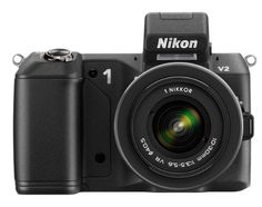 Nikon 1 V2 Compact System Camera with 10-30mm Lens Kit - Black (14.2MP) 3 inch LCD -   Following on from the success of the Nikon 1 V1, the Nikon 1 V2 includes a powerful 14.2-megapixel sensor for incredible precision in every shot and new functions, including the built-in flash and shortcut buttons to adjust settings. This practical and versatile camera is small enough to slip... - http://unitedkingdom.bestgadgetdeals.net/nikon-1-v2-compact-system-camera-with-10-30mm-lens-ki