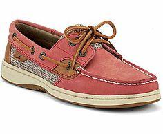 Bluefish 2-Eye Boat Shoe, Washed Red, dynamic