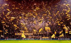Borussia Dortmund atmosphere at Signal-Iduna-Park