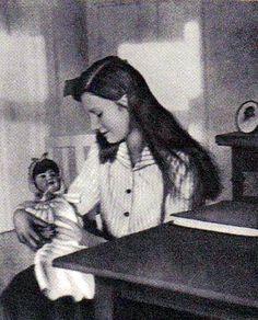 a young Queen Astrid of Belgium, nee Princess of Sweden